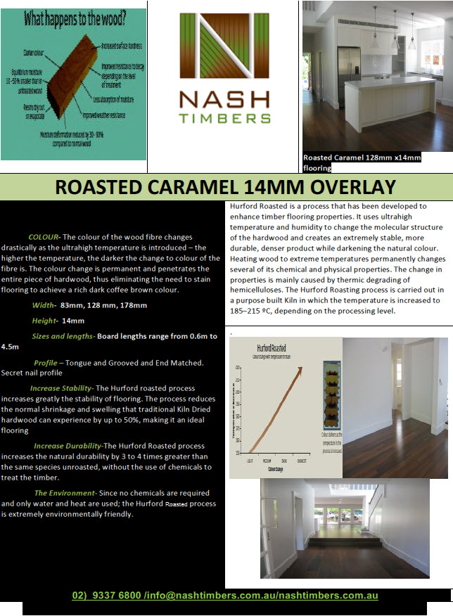 ROASTED CARAMEL BROCHURE