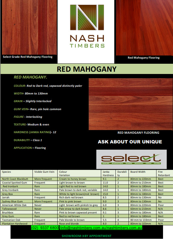 red mahagony TN