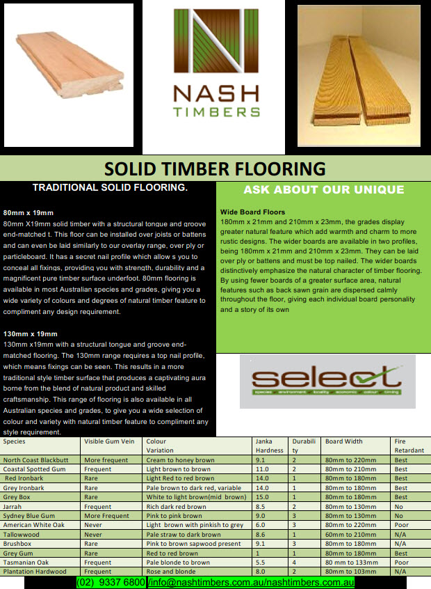 TN SOLID FLOORING