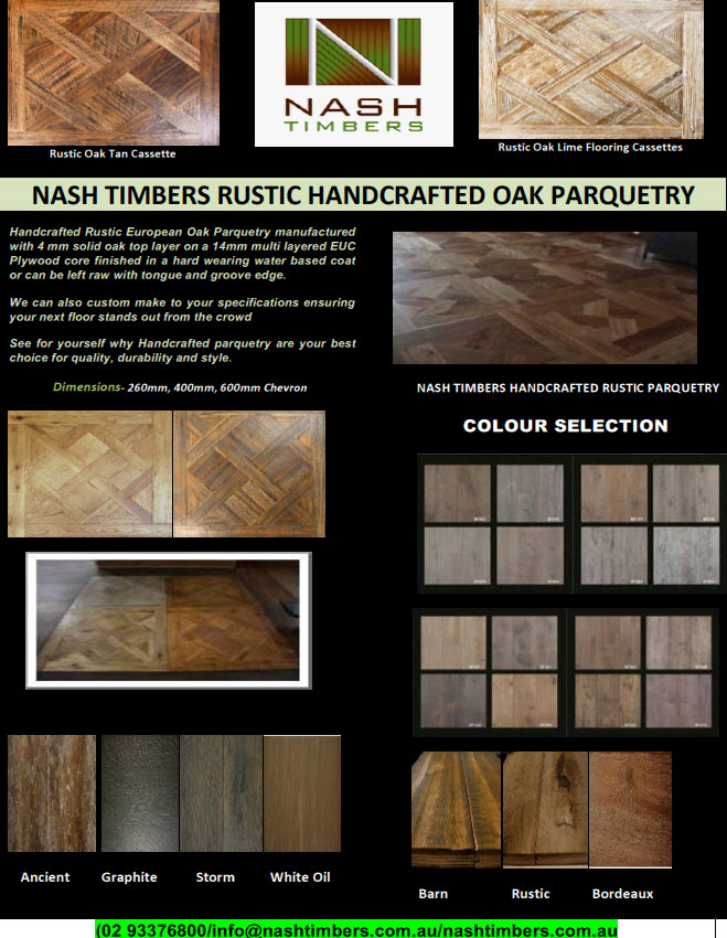 RUSTIC ENGINEERED PARQUETRY TN